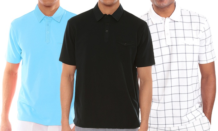 Steve Harvey Collection Men's Polo