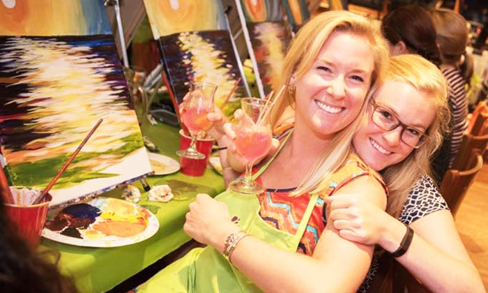 Paint Nite - Harrisburg / Lancaster: Two-Hour Social Painting Event from Paint Nite (Up to 46% Off)