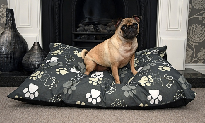 Washable Deep-Filled Dog Bed in Choice of Colour for £7.99
