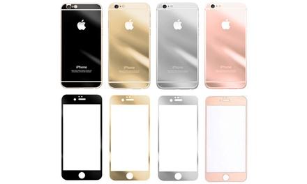 Protector de doble cara de vidrio templado para iPhone 5/5S/SE, 6+/6S+ por 5,99 €