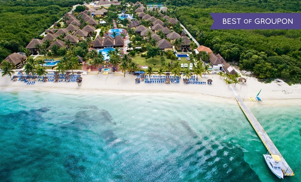 TripAlertz wants you to check out ✈ 4-Night All-Inclusive Allegro Cozumel Stay with Air. Price per Person Based on Double Occupancy(Buy 1 Groupon/Person)  ✈ 4-Night All-Inclusive Allegro Cozumel Stay w/Air from Travel by Jen - All-Inclusive Cozumel Vacation
