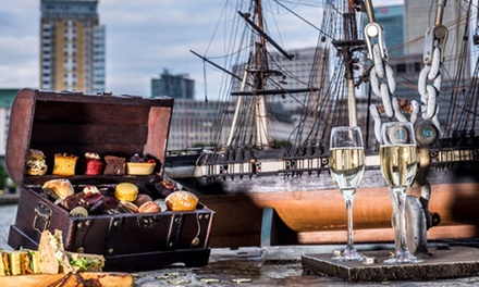 Pirate-Themed Afternoon Tea with Bottomless Bubbly at Doubletree by Hilton London- Docklands Riverside