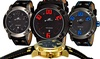 Men's Sporty Double-Layer Spring Color Watch: Men's Sporty Double-Layer Spring Color Watch