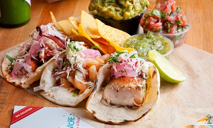 Dine-In or Take-Out Ceviche and Seafood at My Ceviche (Up to 50% Off)