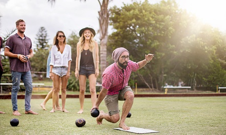 2-Hr Barefoot Bowling + Beer: 2 ($10), 4 ($20), 6 ($30), 8 ($40) or 10 Ppl ($50) at Alexandria-Erskineville Bowling Club