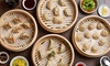 Dough Zone Dumpling House - Multiple Locations: $14 for $20 Worth of Bao Dumplings, Noodles, and Chinese Cuisine for Two or More at Dough Zone Dumpling House