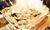 兵庫県/加古川 ≪名物・牡蠣のガンガン鉄板焼き500g+選べる1品+120分飲み放題≫
