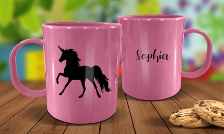 $9.99 for a Personalised Plastic Kids' Mug (Don't Pay $24.99)