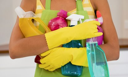 image for Two, Three, or Four Hours of <strong>Cleaning</strong> Services from <strong>Cleaning</strong> for a Cause (Up to 60% Off)