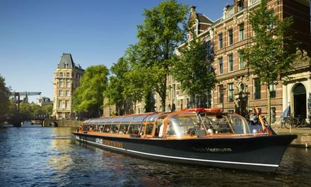 Rondvaart in Amsterdam: vaar 60 minuten door de Amsterdamse grachten met Rederij Lovers