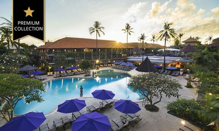 Bali: 5 or 7 Nights for Two with Breakfast, Welcome Drink, Leisure Access and Extras at 5* Bali Dynasty Resort
