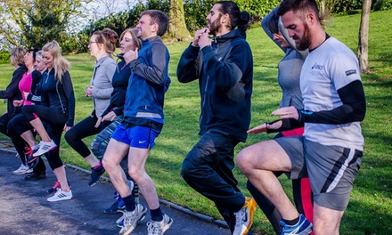 Ten Boot Camp Sessions for One or Two at The Lotus Fitness Academy
