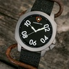 Morphic M41 Series Men's Leather-Backed Canvas Strap Watch