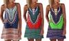 Bohemian Print Summer Dress