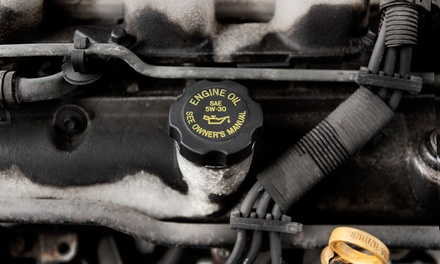 $53 for a Synthetic Oil Change Package with Tire Rotation and Four-Wheel Balance ($130 Value)