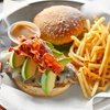 49% Off Burger and Beer Dinner at Seven Dining Lounge