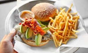 The Metal Grill: Pub Food at The Metal Grill (40% Off). Two Options Available.