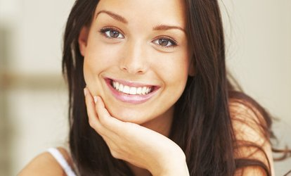 image for Teeth Whitening with a Check-Up and Two X-Rays at Smileright Cheltenham (70% Off)