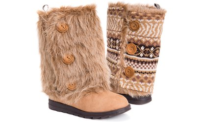 Image Placeholder For Muk Luks Reversible Andrea Boots