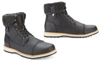 Deals on Reserved Mens Carswell Mid-Top Boots