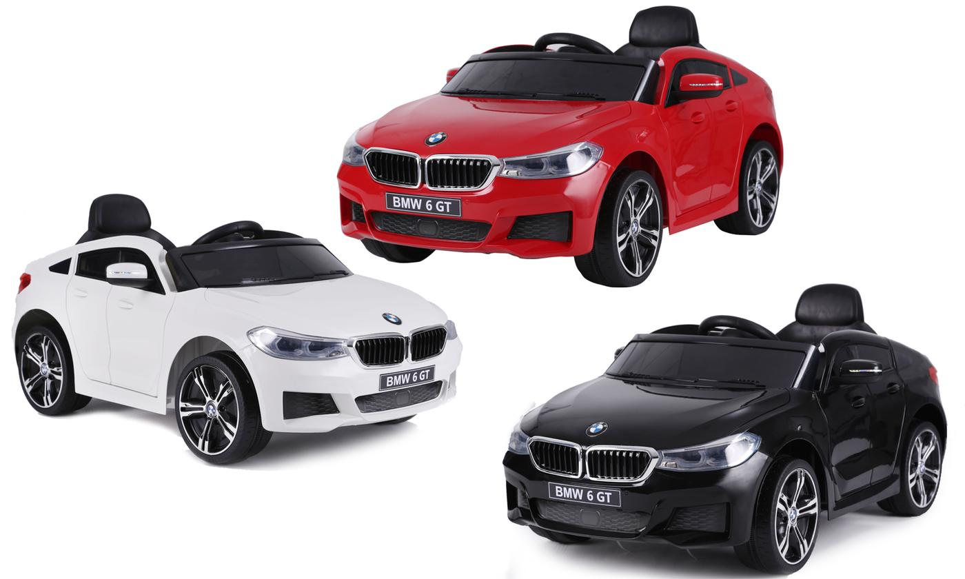 BMW 6 GT-Style Kids' Electric Ride-On-Car With Free Delivery