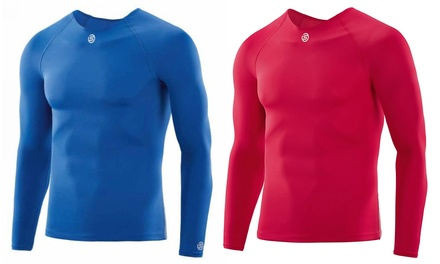 Camiseta manga larga Skins DNAmic de la marca Under Armour