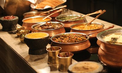 image for Lunch Buffet for Two or Dinner for Two or More at Kohinoor Grill Frontier Indian Cuisine (Up to 42% Off)