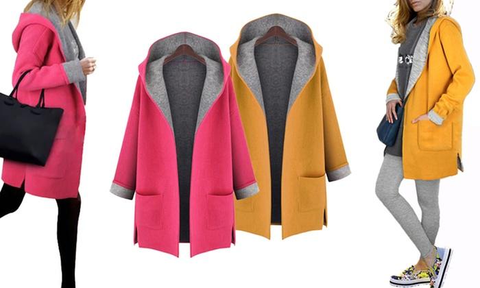 Manteau femme avec capuche   Groupon