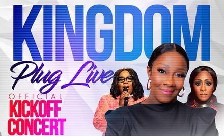 Le'Andria Johnson feat. Tiffany Andrews & LeJuene Thompson: Kingdom Plug Live on November 8 at 7 p.m.
