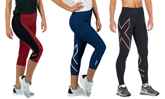 6d942156 2XU Women's Active Compression Tights | Groupon