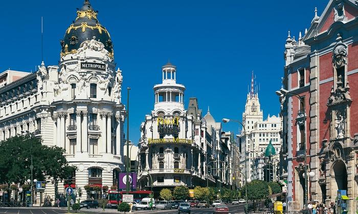 Exe Getafe - Hotel Exe Getafe: Madrid: 1 a 5 o 7 noches para dos con parking, detalle, late check-out y opción a desayuno buffet en Hotel Exe Getafe 4*