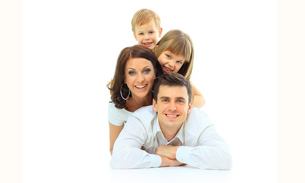 Babypass für 4 Fotoshootings vom Babybauch bis zur Familie inkl. Make-up beiFoto Mediaart (66% sparen*)