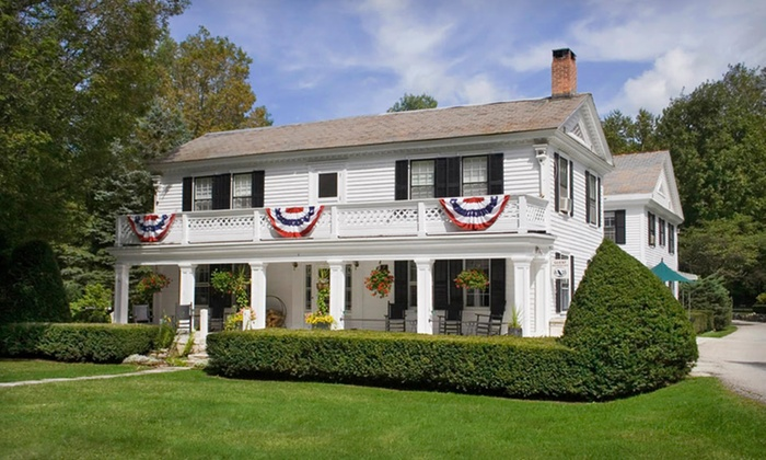 Barrows House - Dorset, VT: Two-night stay for two, check in Sunday-Wednesday at Barrows House in Dorset, VT