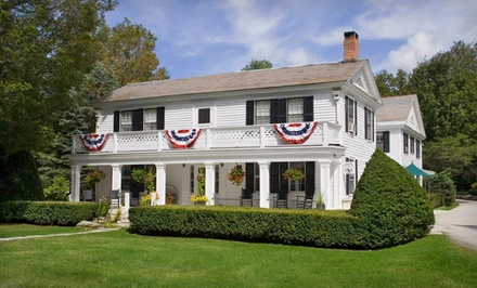 Two-night stay for two, check in Sunday-Wednesday at Barrows House in Dorset, VT from Barrows House -