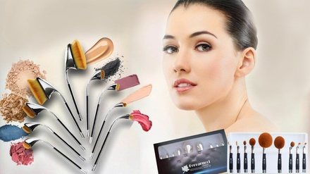 One, Two or Three Ferrarucci Make-up Brush Sets from AED 299 (Up to 45% Off)