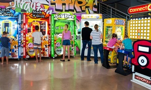 Super Game Arcade: Super Games Arcade: R200 Gaming Credit for R99 at Super Games Arcade (51% Off)