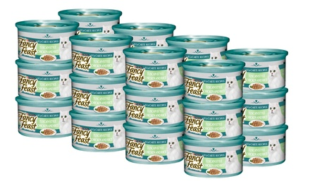 Purina Fancy Feast Sensations A La Carte Tuscan Chicken and Rice: 24 Cans $15 or 48 Cans $26Don't Pay Up To $81.12