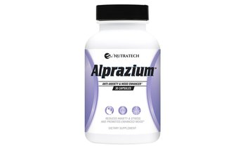 Nutratech Alprazium Anti-Anxiety Supplement (30-Count)