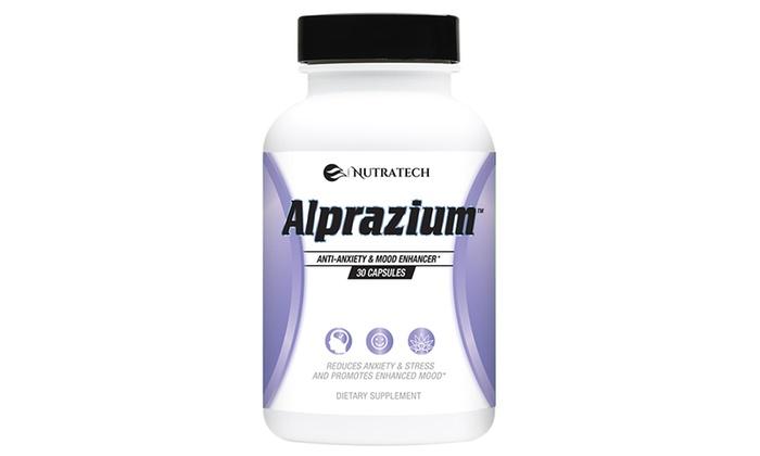 Nutratech Alprazium Mood-Enhancer and Anti-Anxiety Supplement (30-Count)