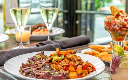 Latin American Dinner with Drinks for Two or Four at Ariel's Latin Bistro (Up to69% Off)