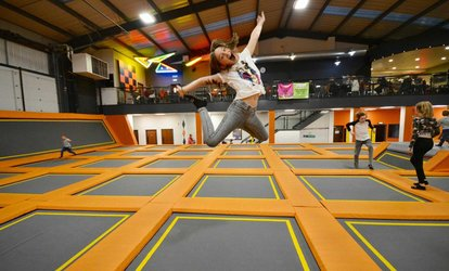 image for Trampoline Park Access for Up to Four at Air Vault (Up to 44% Off)