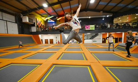 OneHour Trampoline Park Access for Up to Four at Air Vault