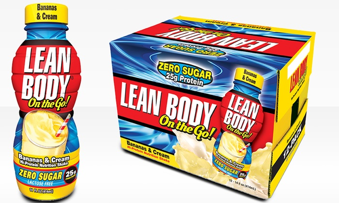 Lean body on the go shakes
