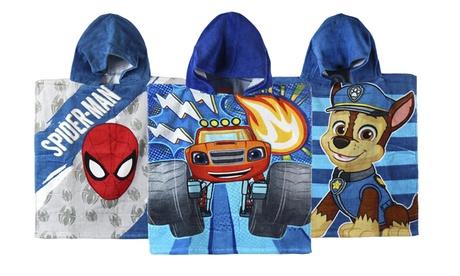 Poncho infantil Disney para niño con estampado realizado en algodón 100% Oferta en Groupon
