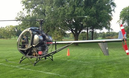 image for $149 for a <strong>Helicopter</strong> Flying Lesson and Flight from Bachman Aero ($325 Value)