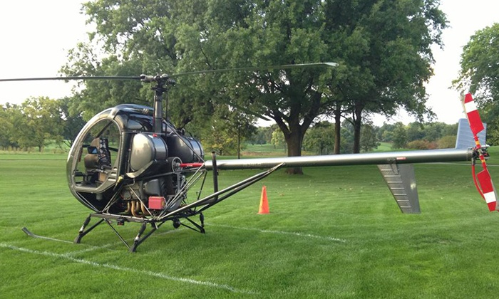Bachman Aero - Schaumburg: $149 for a Helicopter Flying Lesson and Flight from Bachman Aero ($325 Value)