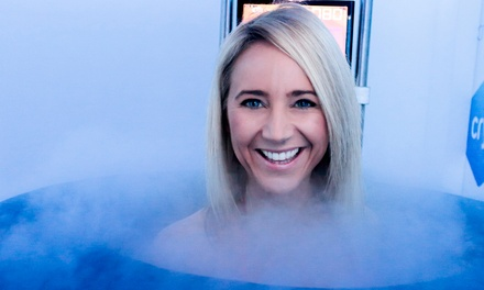 Whole Body Cryotherapy One $45, Three $135, Five $225 or 10 Sessions $450 at Cryo Up to $650 Value