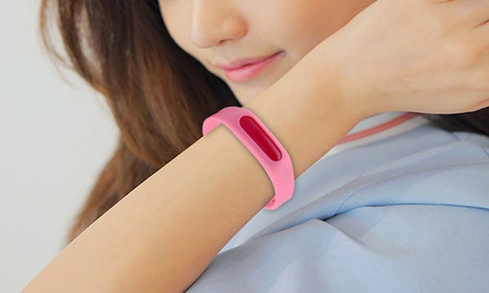 Sensual Sale: Silicone Anti-Mosquito Bracelet: One ($9.95), Two ($14.95) or Four ($24.95)