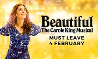 Beautiful: The Carole King Musical Tickets from $75, Sydney Lyric Theatre - MUST CLOSE 4 FEBRUARY!