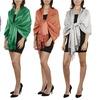Women's Silky and Soft Metallic Pashmina Shawl Wrap (Set of 2)